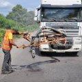 На дорогах області ліквідували понад 350 тис. кв. м ямковості
