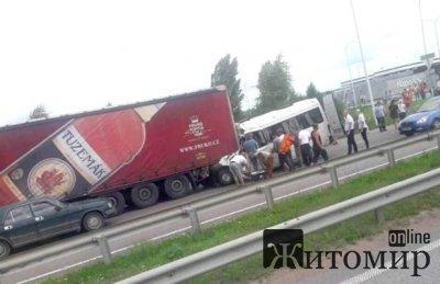 Водитель фуры смертельного ДТП под Житомиром: