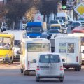 """У Брусилові на автостанції затримали маршрутку """"Фастів-Житомир"""", бо перевізник перевозив пасажирів без дозволу"""