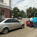 Аварія на перехресті в Житомирі