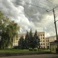 """""""Гнів небес"""" або зловіще небо перед грозою у Житомирі. ФОТО"""
