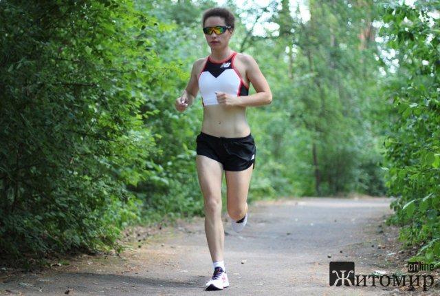 Житомирянка і чемпіонка з триатлону: професіоналізм не має статі