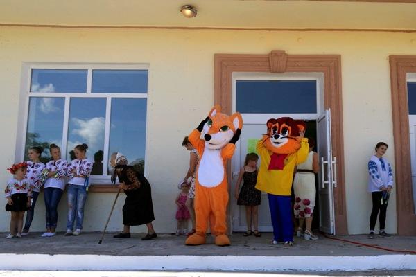 Віктор Развадовський привітав жителів Троянова з Днем села