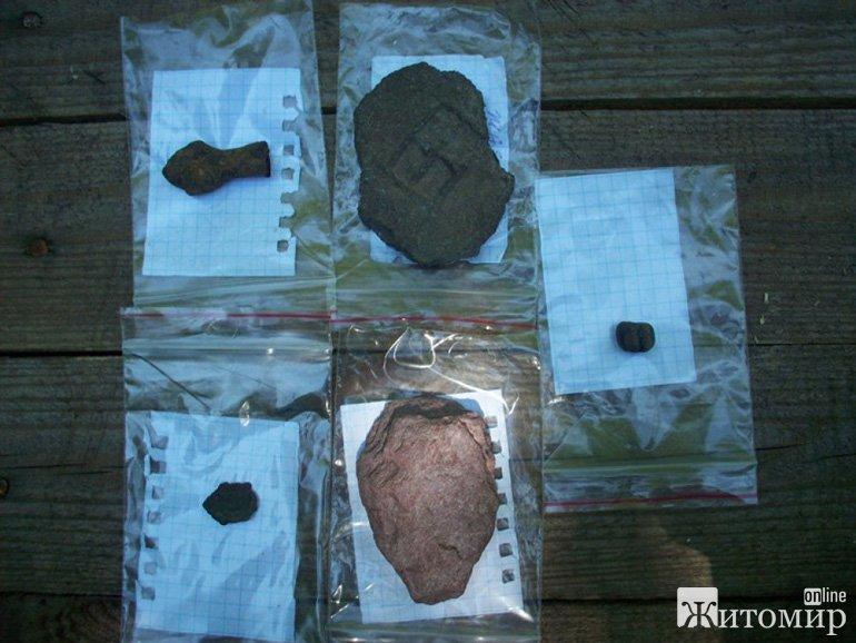 Студенти історичного факультету ЖДУ імені І. Франка розкопали у Коростені незвичайну знахідку