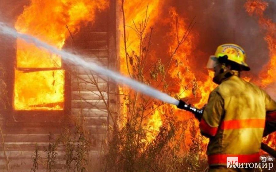 У Житомирській області оголошено надзвичайний рівень пожежної небезпеки