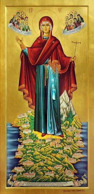 У Житомирі перебуватимуть три чудотворні Афонські ікони Божої Матері. ФОТО