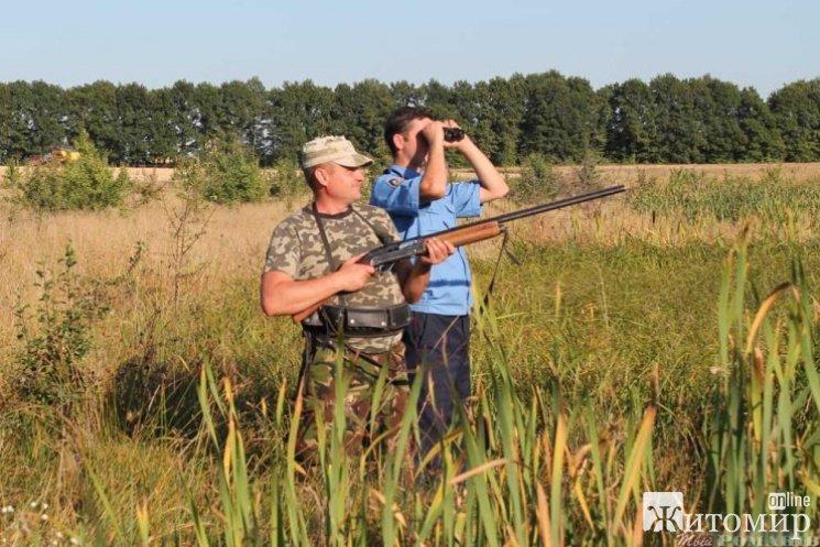 На Житомирщині розпочато сезон полювання на пернату дичину