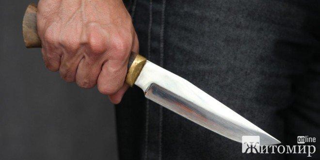 У місті Коростені Житомирської області чоловік жорстоко підрізав підлітка