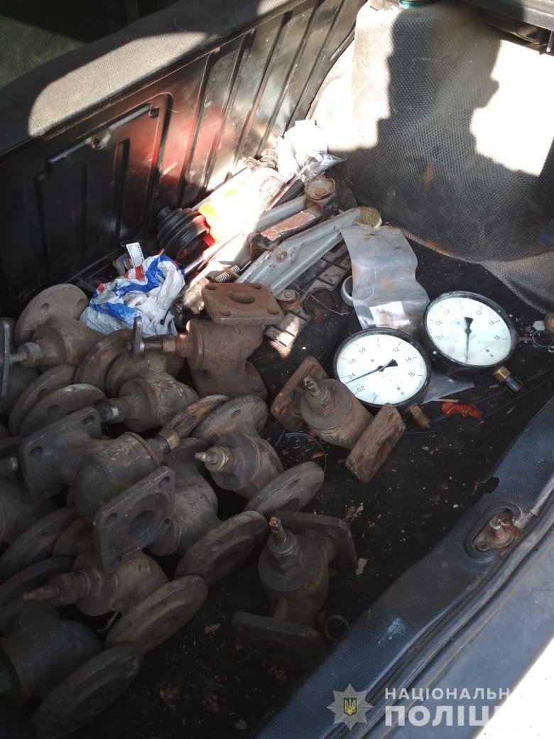 У Житомирі поліцейські затримали парубків під час крадіжки
