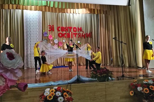 Освітянським форумом у Житомирському районі стартував новий навчальний рік