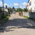 Біля водоканалу в Житомирі вантажівка знесла три електроопори, люди залишилися без світла