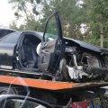 """На трасі """"Київ-Чоп"""" зіткнулися два легкові автомобілі Toyota і Skoda"""