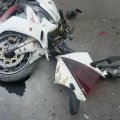 В Озерному травмувався водій мотоцикла