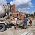 Триває будівництво службового житла для десантників у Житомирі