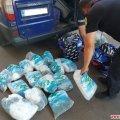 Житомирські митники разом з прикордонниками вилучили у молдаванина 18 незаконних рибальських сіток
