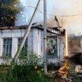 На Житомирщині в селі Попільня згоріла закрита церква