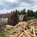 На Житомирщині виявили випадок незаконного випалювання вугілля