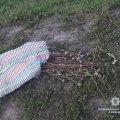 На Житомирщині невідомий носив наркотики прямо у господарській торбі