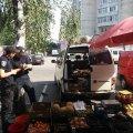 В Житомирській області оштрафували місця стихійної торгівлі через неякісну продукцію