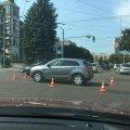 У Житомирі по вулиці Київській-Князів Острозьких не працюють світлофори та сталась аварія. ФОТО