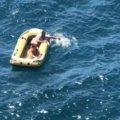 Кожа слазила слоями: супружескую пару унесло в Черное море