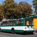 У Житомирі курсує відремонтований тролейбус. ФОТО