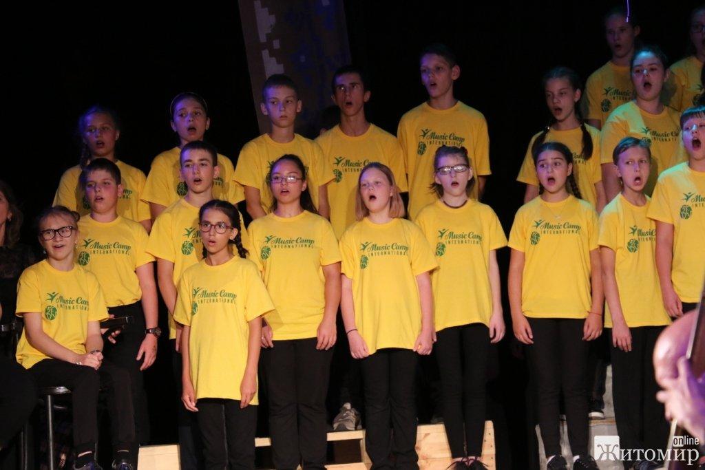 В Житомирському академічному українському музично-драматичному театрі імені І. Кочерги - завершився «Music Camp International-2018»
