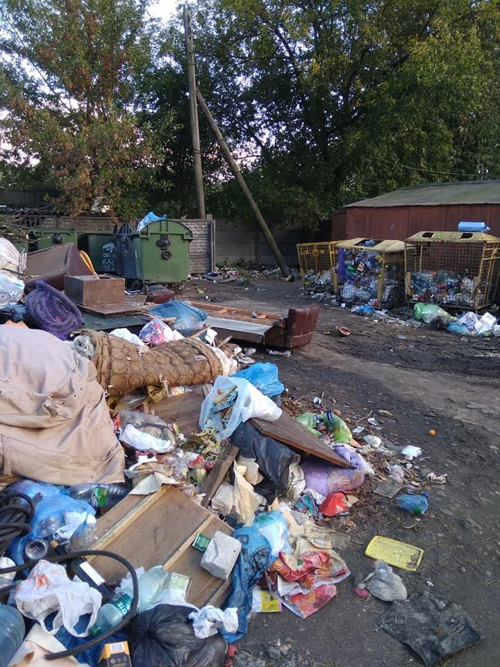 В Житомирі на одній з вулиць скоро буде сміттєзвалище. ФОТО