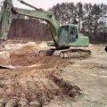 Незаконний видобуток піску в Олевської ОТГ на сміттєзвалищі і лісі село Рудня Бистра. ВІДЕО