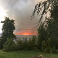 В Житомирі пожежу на паперовій фабриці локалізовано!