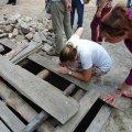 У Олевську розкопали більш як тисячолітній дерев'яний древлянський колодязь