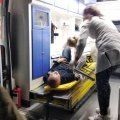 На Житомирщині рятували чоловіка, який наштрикнувся на паркан