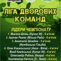 Відбувся другий Чемпіонат Житомира серед дворових команд