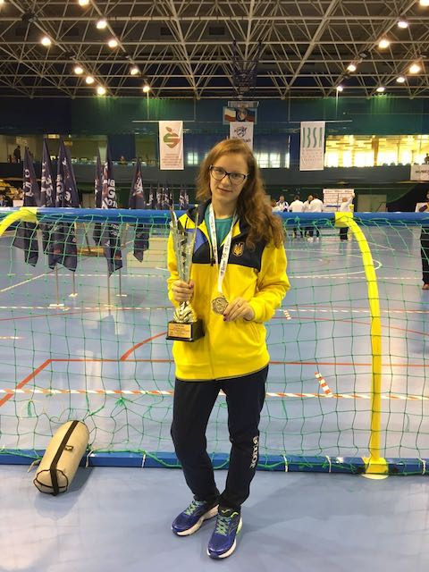 Житомирянка з вадою зору здобула золото чемпіонату Європи. ФОТО