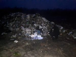 """І знову на Житомирщині виявили """"львівське сміття"""""""