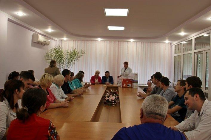 В Житомирській обласній дитячій лікарні відбулася благодійна акція