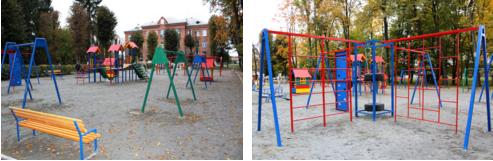Будівництво ігрового та спортивного простору «Активний відпочинок на Мар'янівці» завершено