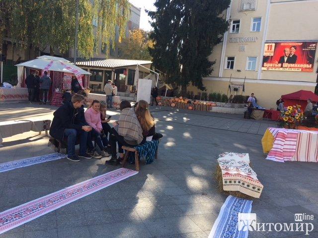 Покровський ярмарок на Михайлівській. ФОТО