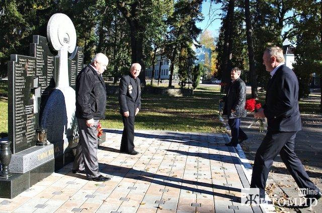 У Новогуйвинському вшанували героїв-чорнобильців. ФОТО