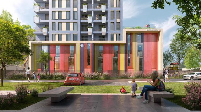 ХЭППИ ХАУС — новый жилой комплекс в 5 минутах от метро