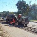 У Житомирі розпочалися підготовчі роботи з укладки асфальту на трамвайних переїздах