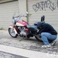 Поліцейські затримали крадія мотоцикла у Бердичеві