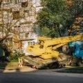 У Житомирі провалився кран. ФОТО