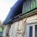 Пожежа в Коростишеві мало не забрала життя двох пенсіонерів