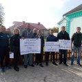 Схід села у Довжику вирішив проінспектувати підприємства, які працюють на території села. ФОТО