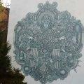 У Житомирі на будинку з'явилося нове графіті. ФОТО