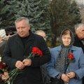 У день 74-ої річниці визволення України від фашистських загарбників, опозиціонери Житомирщини поклали квіти до Монументу Слави