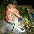 В Житомирі у парку Гагаріна спіймали рибалку-порушника на якого склали адміністративний протокол