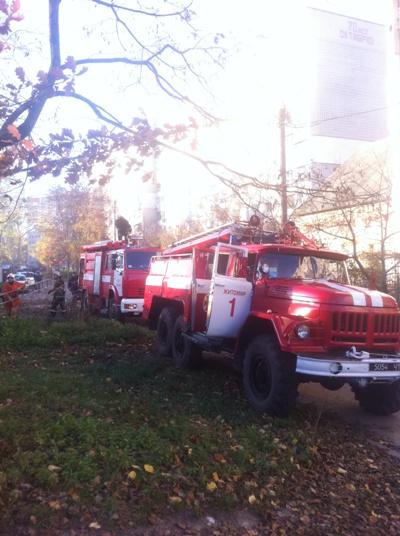 У Житомирі трапилася пожежа.ФОТО