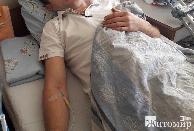 Житель Черняхова решил поставить точку в конфликте со знакомым с помощью гранаты. ФОТО